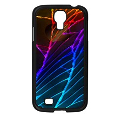 Cracked Out Broken Glass Samsung Galaxy S4 I9500/ I9505 Case (Black)