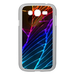 Cracked Out Broken Glass Samsung Galaxy Grand DUOS I9082 Case (White)