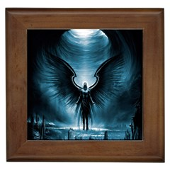 Rising Angel Fantasy Framed Tiles