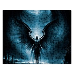 Rising Angel Fantasy Rectangular Jigsaw Puzzl
