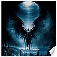 Rising Angel Fantasy Canvas 12  x 12