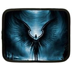 Rising Angel Fantasy Netbook Case (XL)