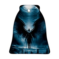 Rising Angel Fantasy Bell Ornament (Two Sides)