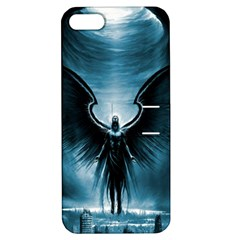 Rising Angel Fantasy Apple iPhone 5 Hardshell Case with Stand