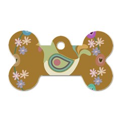 Easter Dog Tag Bone (Two Sides)