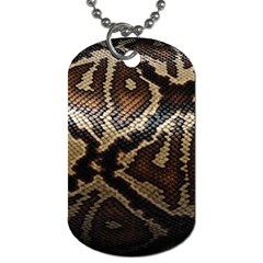 Snake Skin Olay Dog Tag (One Side)