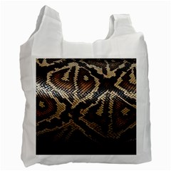 Snake Skin Olay Recycle Bag (Two Side)