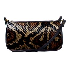 Snake Skin Olay Shoulder Clutch Bags
