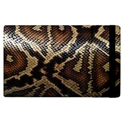 Snake Skin Olay Apple iPad 3/4 Flip Case
