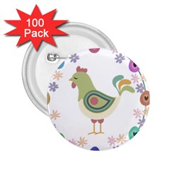 Easter 2.25  Buttons (100 pack)