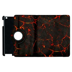 Volcanic Textures Apple iPad 2 Flip 360 Case