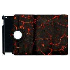 Volcanic Textures Apple iPad 3/4 Flip 360 Case
