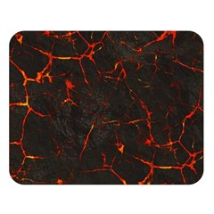 Volcanic Textures Double Sided Flano Blanket (Large)