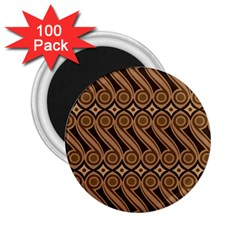 Batik The Traditional Fabric 2.25  Magnets (100 pack)