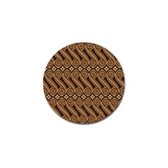 Batik The Traditional Fabric Golf Ball Marker (4 pack)