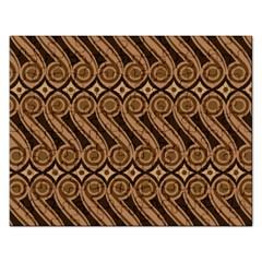 Batik The Traditional Fabric Rectangular Jigsaw Puzzl