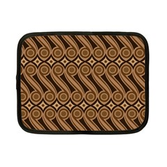 Batik The Traditional Fabric Netbook Case (Small)