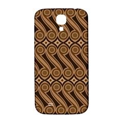 Batik The Traditional Fabric Samsung Galaxy S4 I9500/I9505  Hardshell Back Case