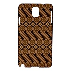 Batik The Traditional Fabric Samsung Galaxy Note 3 N9005 Hardshell Case