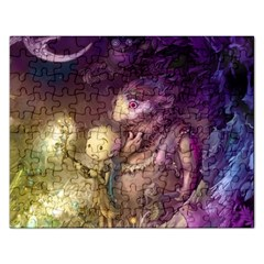 Cartoons Video Games Multicolor Rectangular Jigsaw Puzzl