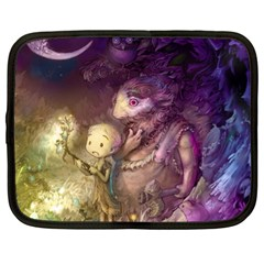 Cartoons Video Games Multicolor Netbook Case (XL)