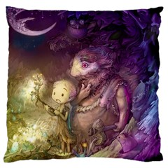 Cartoons Video Games Multicolor Large Cushion Case (Two Sides)