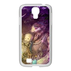 Cartoons Video Games Multicolor Samsung GALAXY S4 I9500/ I9505 Case (White)