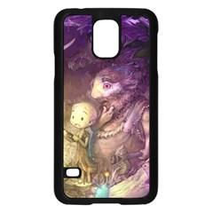 Cartoons Video Games Multicolor Samsung Galaxy S5 Case (Black)