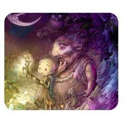 Cartoons Video Games Multicolor Double Sided Flano Blanket (Small)