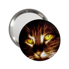 Cat Face 2.25  Handbag Mirrors