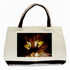 Cat Face Basic Tote Bag
