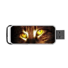 Cat Face Portable USB Flash (One Side)