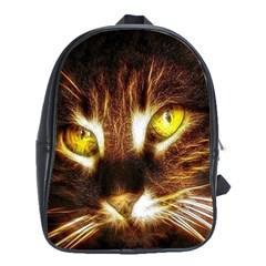 Cat Face School Bags (XL)