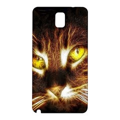 Cat Face Samsung Galaxy Note 3 N9005 Hardshell Back Case