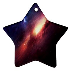 Digital Space Universe Star Ornament (Two Sides)