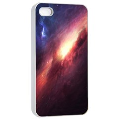 Digital Space Universe Apple iPhone 4/4s Seamless Case (White)