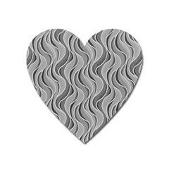 Pattern Heart Magnet