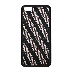 Batik Jarik Parang Apple iPhone 5C Seamless Case (Black)