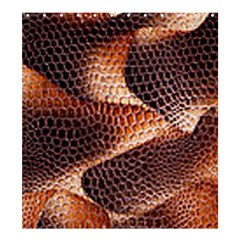 Snake Python Skin Pattern Shower Curtain 66  x 72  (Large)