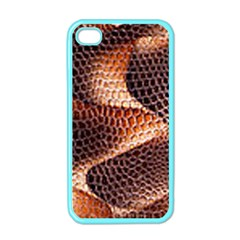 Snake Python Skin Pattern Apple iPhone 4 Case (Color)