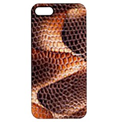 Snake Python Skin Pattern Apple iPhone 5 Hardshell Case with Stand