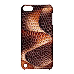 Snake Python Skin Pattern Apple iPod Touch 5 Hardshell Case with Stand