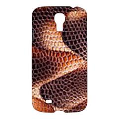 Snake Python Skin Pattern Samsung Galaxy S4 I9500/I9505 Hardshell Case