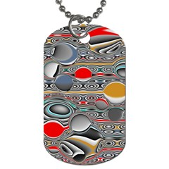 Changing Forms Abstract Dog Tag (two Sides)