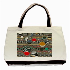 Changing Forms Abstract Basic Tote Bag (two Sides)
