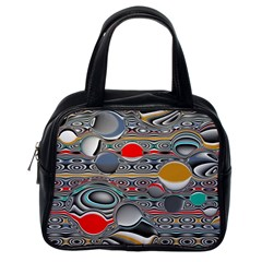 Changing Forms Abstract Classic Handbags (One Side)