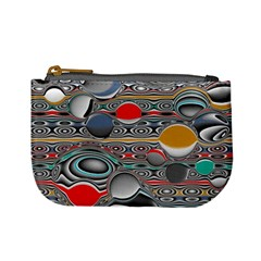 Changing Forms Abstract Mini Coin Purses