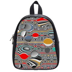 Changing Forms Abstract School Bags (small)
