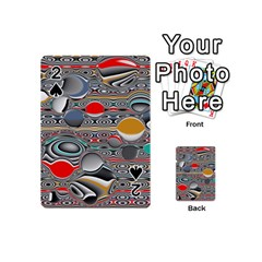 Changing Forms Abstract Playing Cards 54 (mini)