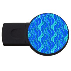 Pattern USB Flash Drive Round (2 GB)